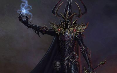 Dark Elf from Warhammer wallpaper