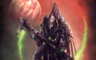 Dark Templar - StarCraft II: Wings of Liberty wallpaper
