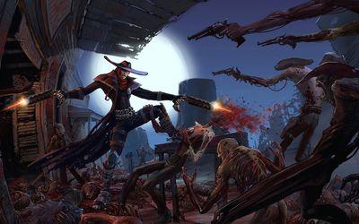 Darkwatch battle wallpaper