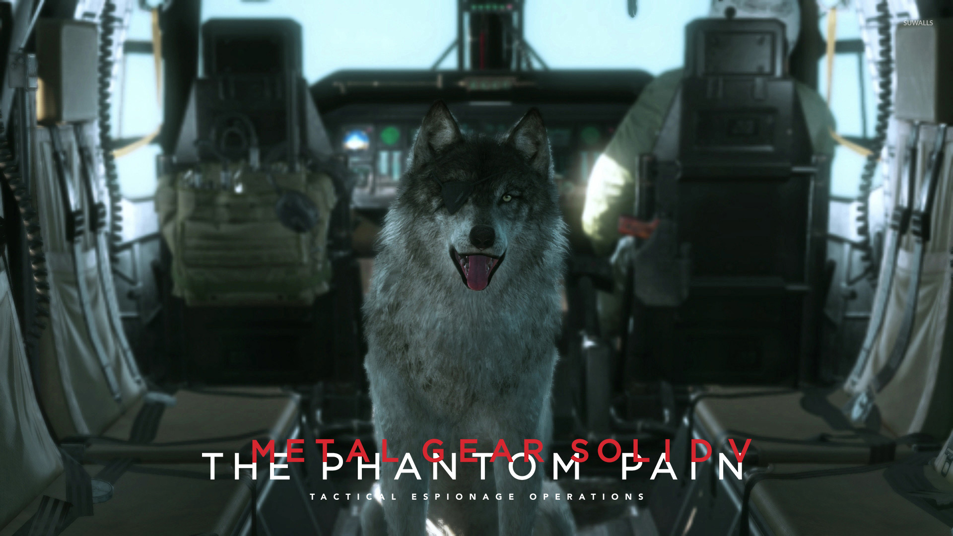 Dd Metal Gear Solid V The Phantom Pain Wallpaper Game