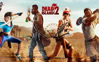 Dead Island 2 characters Wallpaper