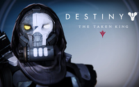 Dead Orbit Hunter male helmet - Destiny: The Taken King wallpaper 3840x2160 jpg