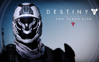 Dead Orbit Titan female helmet - Destiny: The Taken King wallpaper
