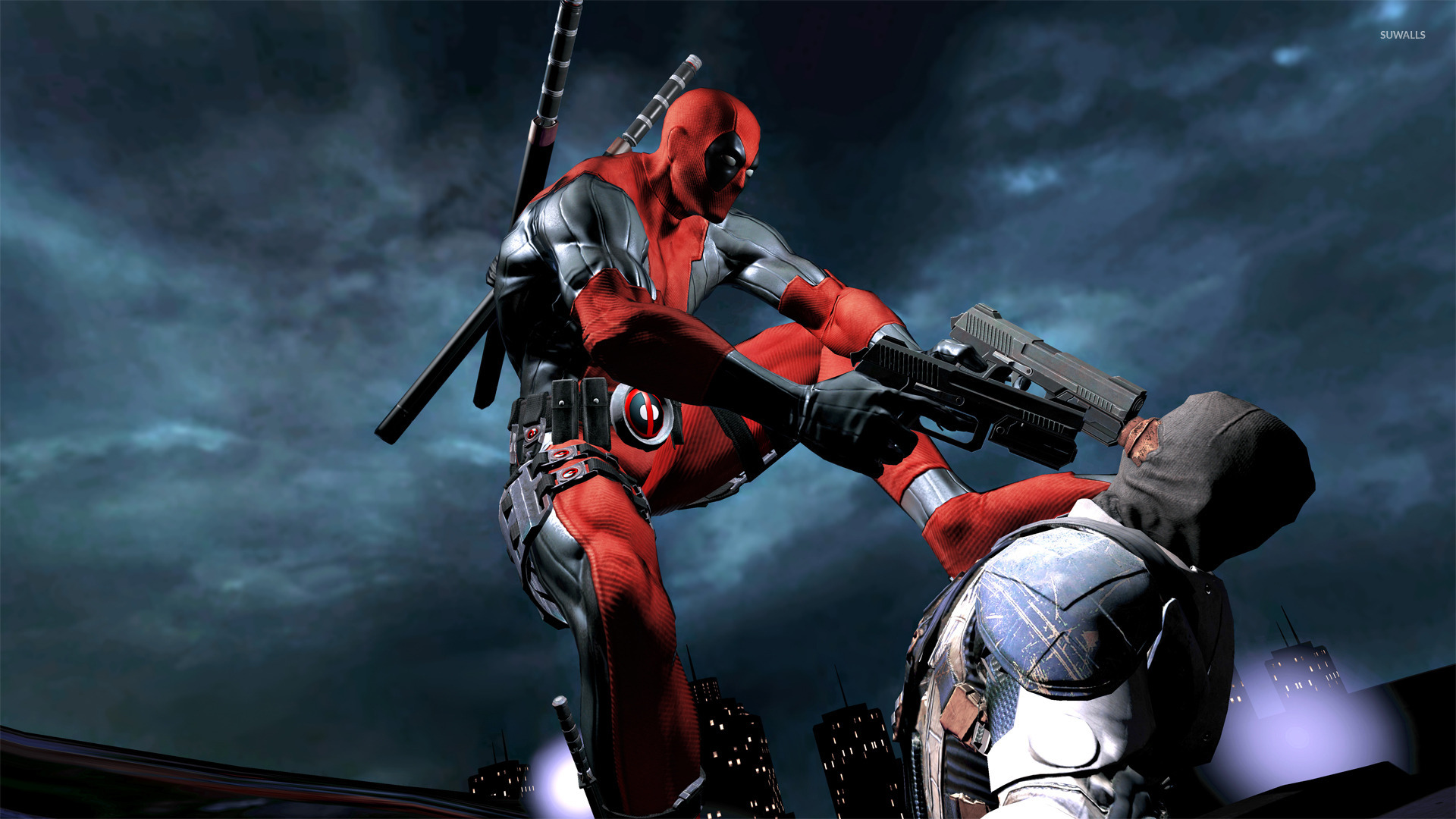 10 New Hd Wallpapers 1080p Games Full Hd 1920 1080 For Pc: Deadpool [10] Wallpaper