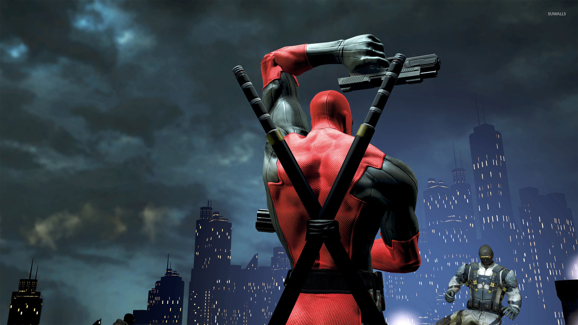 Fun In The World Of Games Hd Wallpapers: Deadpool [12] Wallpaper