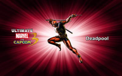 Deadpool - Ultimate Marvel vs. Capcom 3 wallpaper