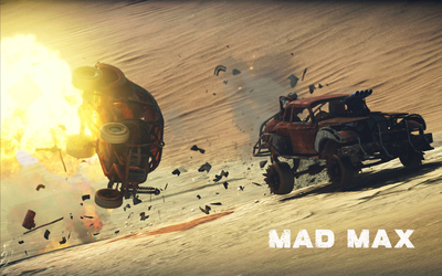 Death Rattle winning a combat in Mad Max wallpaper