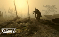 Deathclaw in Fallout 4 wallpaper 1920x1080 jpg