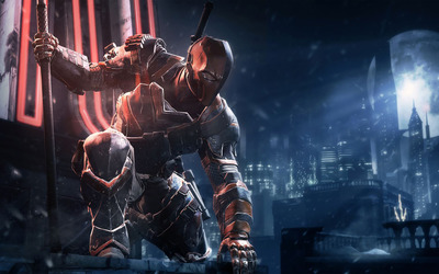 Deathstroke - Batman: Arkham Origins wallpaper