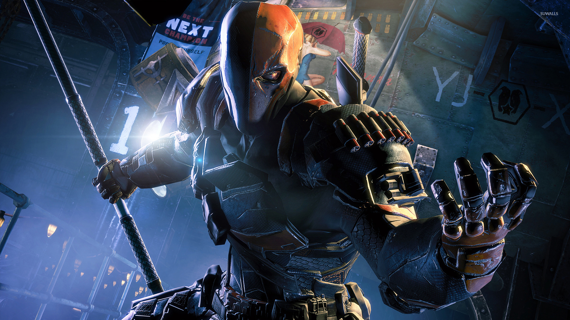 Deathstroke Batman Arkham Origins Wallpaper 1429325