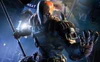 Deathstroke - Batman: Arkham Origins [2] wallpaper 1920x1080 jpg