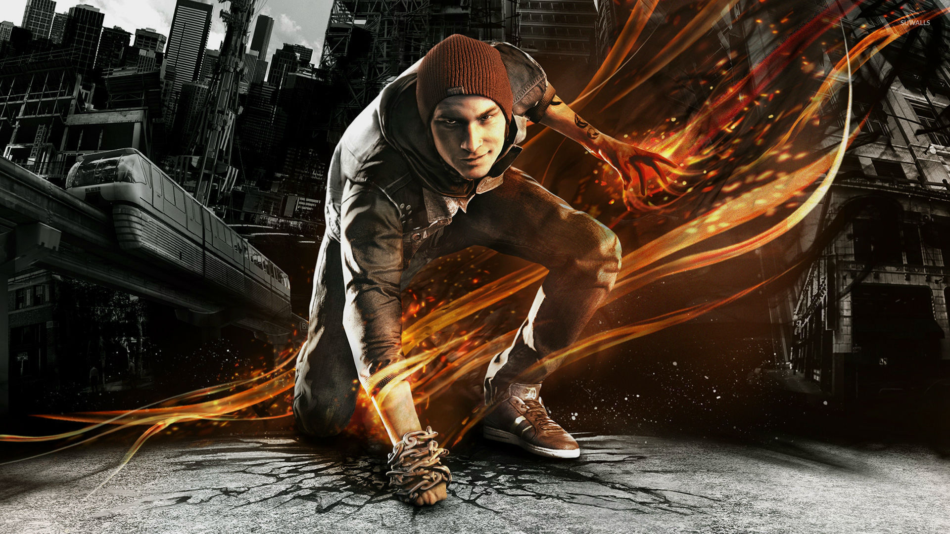 Delsin Rowe - Infamous: Second Son [3] wallpaper