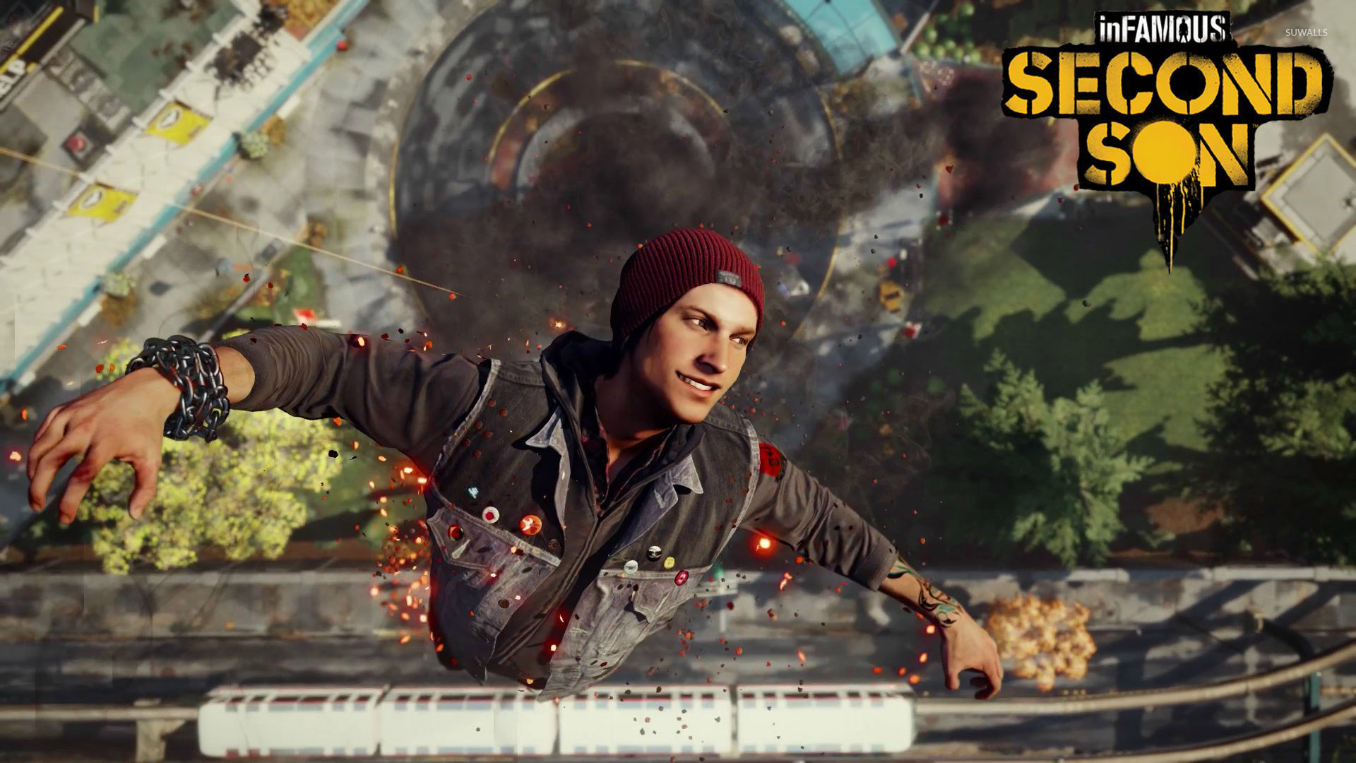 Delsin Rower Infamous Second Son Wallpaper Game Wallpapers