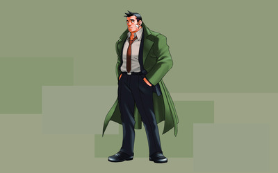 Detective Dick Gumshoe - Phoenix Wright: Ace Attorney wallpaper