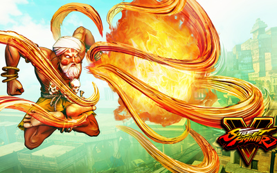Dhalsim in Street Fighter V wallpaper