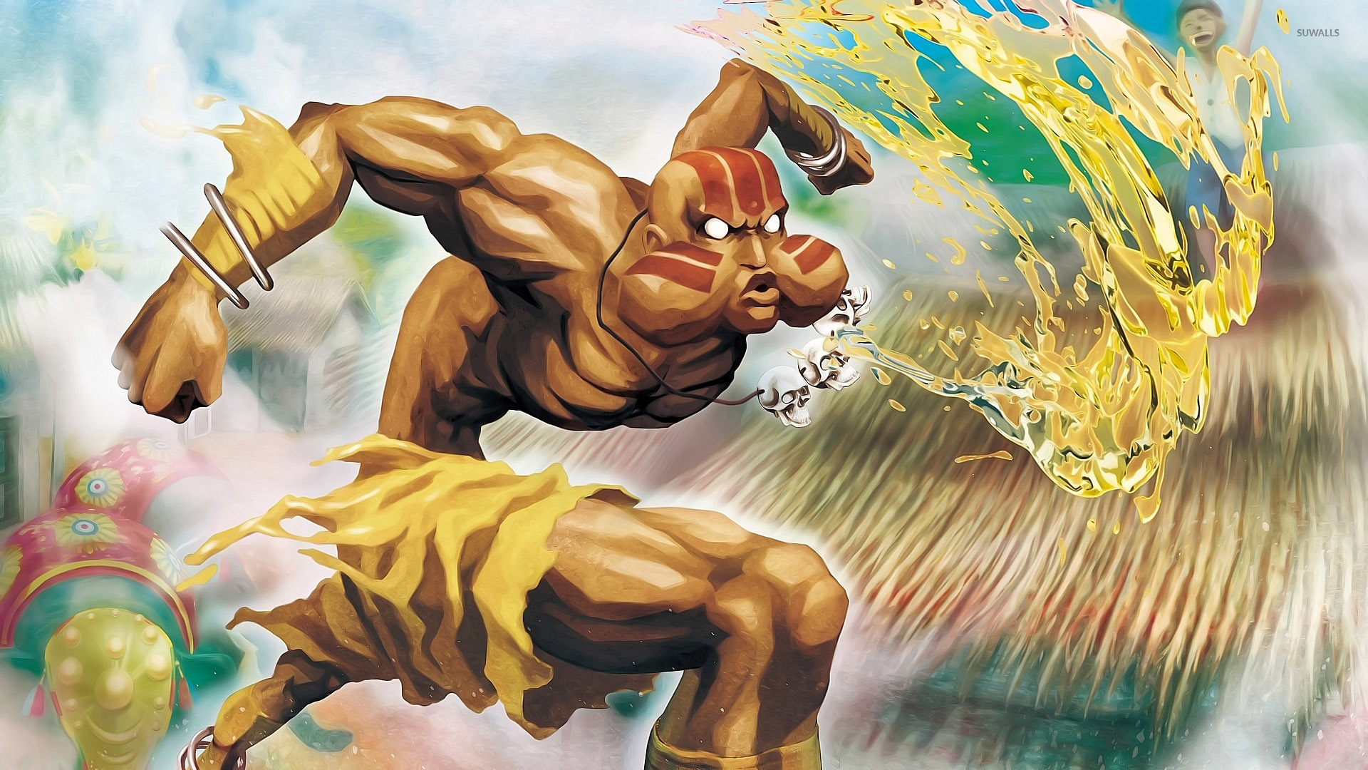 Dhalsim - Super Street Fighter II: The New Challengers wallpaper