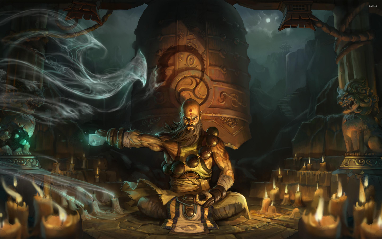 Monk from Diablo III wallpaper - Game wallpapers - #51906