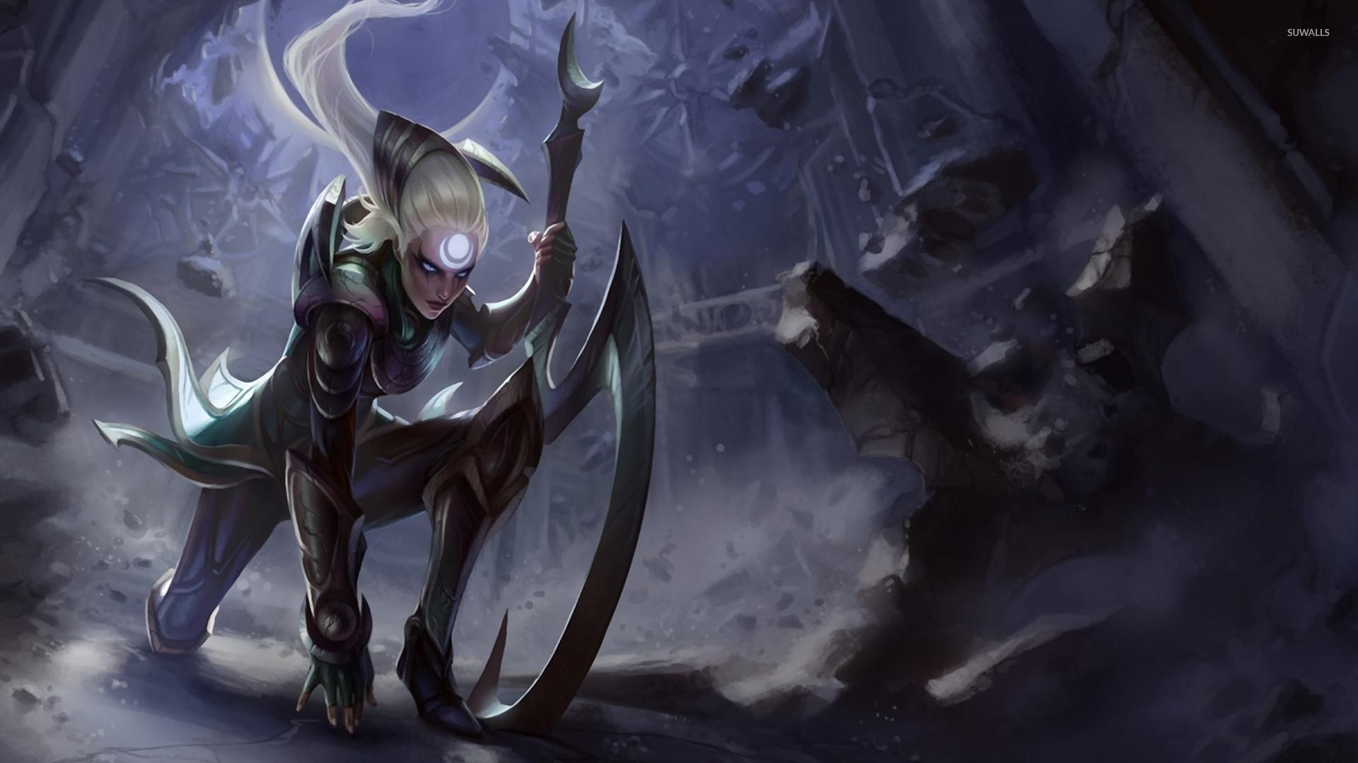 Diana League Of Legends Wallpaper Game Wallpapers 27895