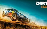 Volkswagen Golf in Dirt Rally wallpaper 3840x2160 jpg