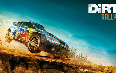 Volkswagen Golf in Dirt Rally wallpaper