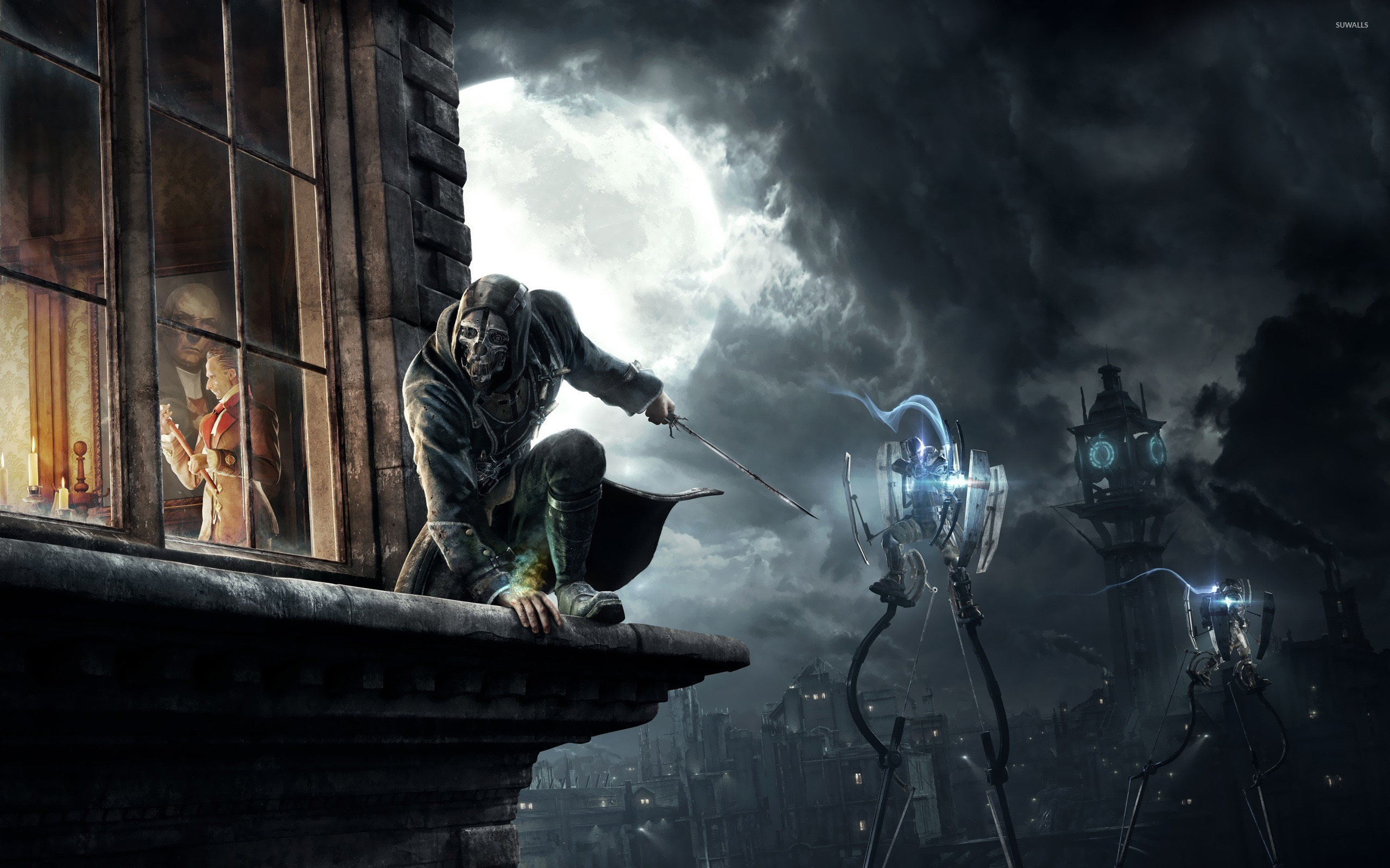Dishonored Fan Art Corvo Video Games Wallpapers Hd: Dishonored [3] Wallpaper