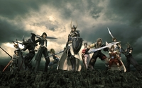 Dissidia Final Fantasy wallpaper 1920x1200 jpg
