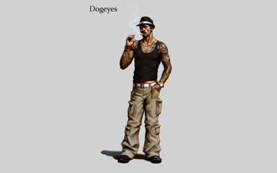 Dogeyes Lin - Sleeping Dogs: Definitive Edition [2] wallpaper