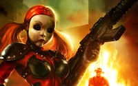 Dollface - Twisted Metal wallpaper 2560x1600 jpg