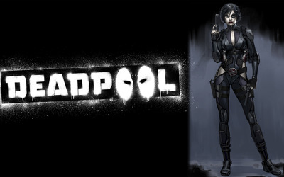 Domino - Deadpool wallpaper