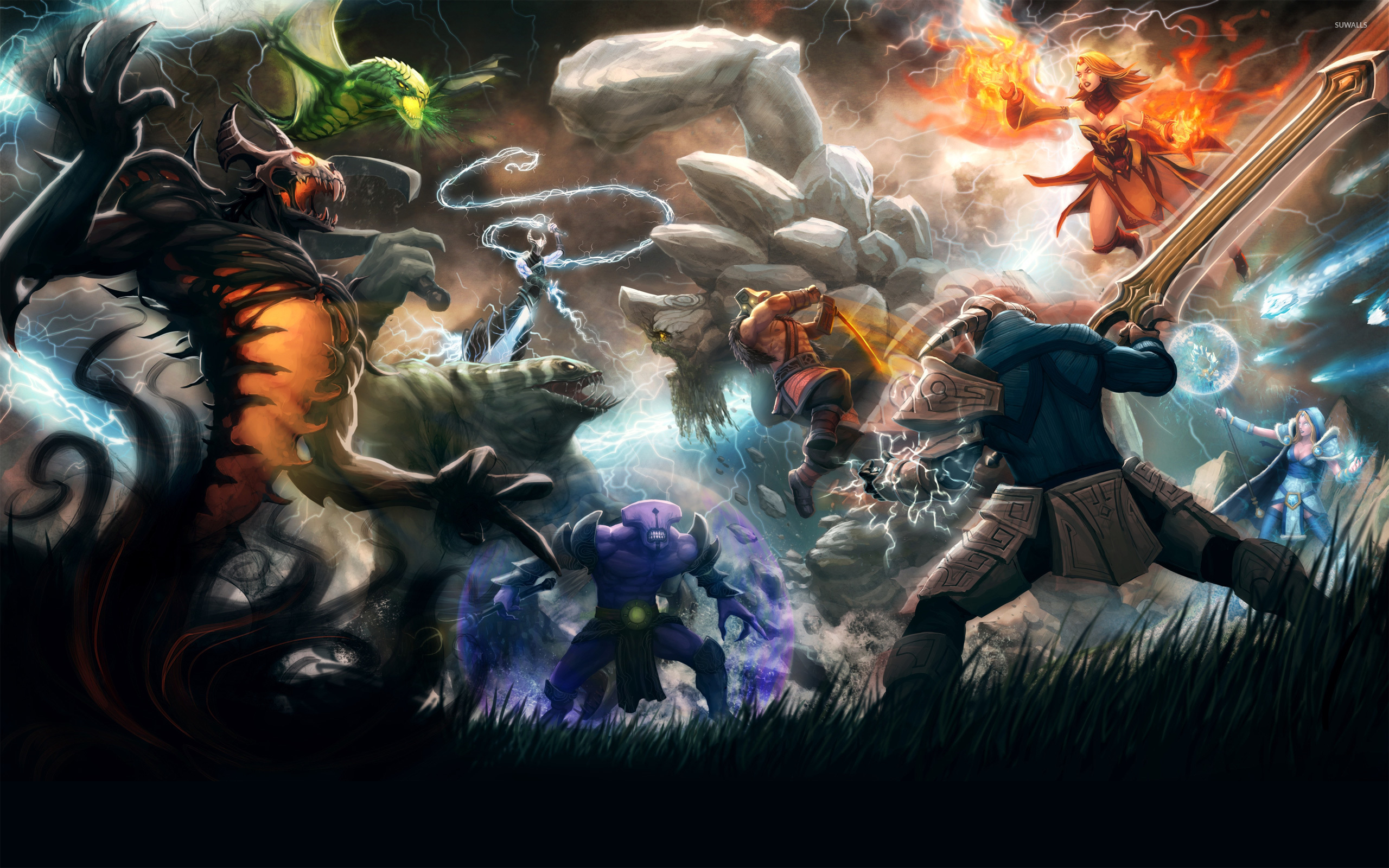 Dota 2 Wallpaper Game Wallpapers 6962