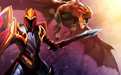 Dragon King - Dota 2 wallpaper