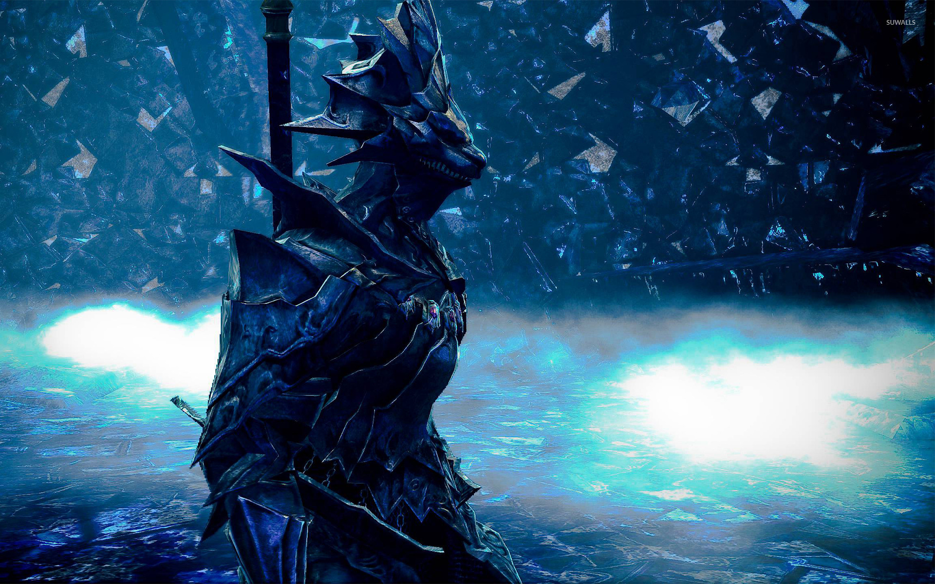 Dragon slayer ornstein dark souls wallpaper game wallpapers dragon slayer ornstein dark souls wallpaper voltagebd Image collections