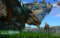 Drew and Thuban in Scalebound wallpaper 1920x1080 jpg