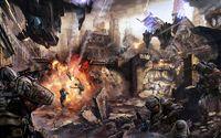 Dropzone Commander battle wallpaper 1920x1080 jpg