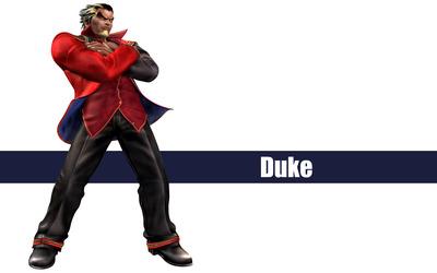 Duke - The King of Fighters wallpaper