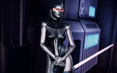 EDI - Mass Effect 3 wallpaper