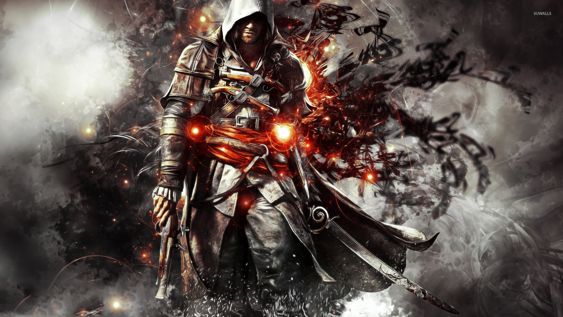 Edward Kenway Assassin S Creed Iv Black Flag Wallpaper Game