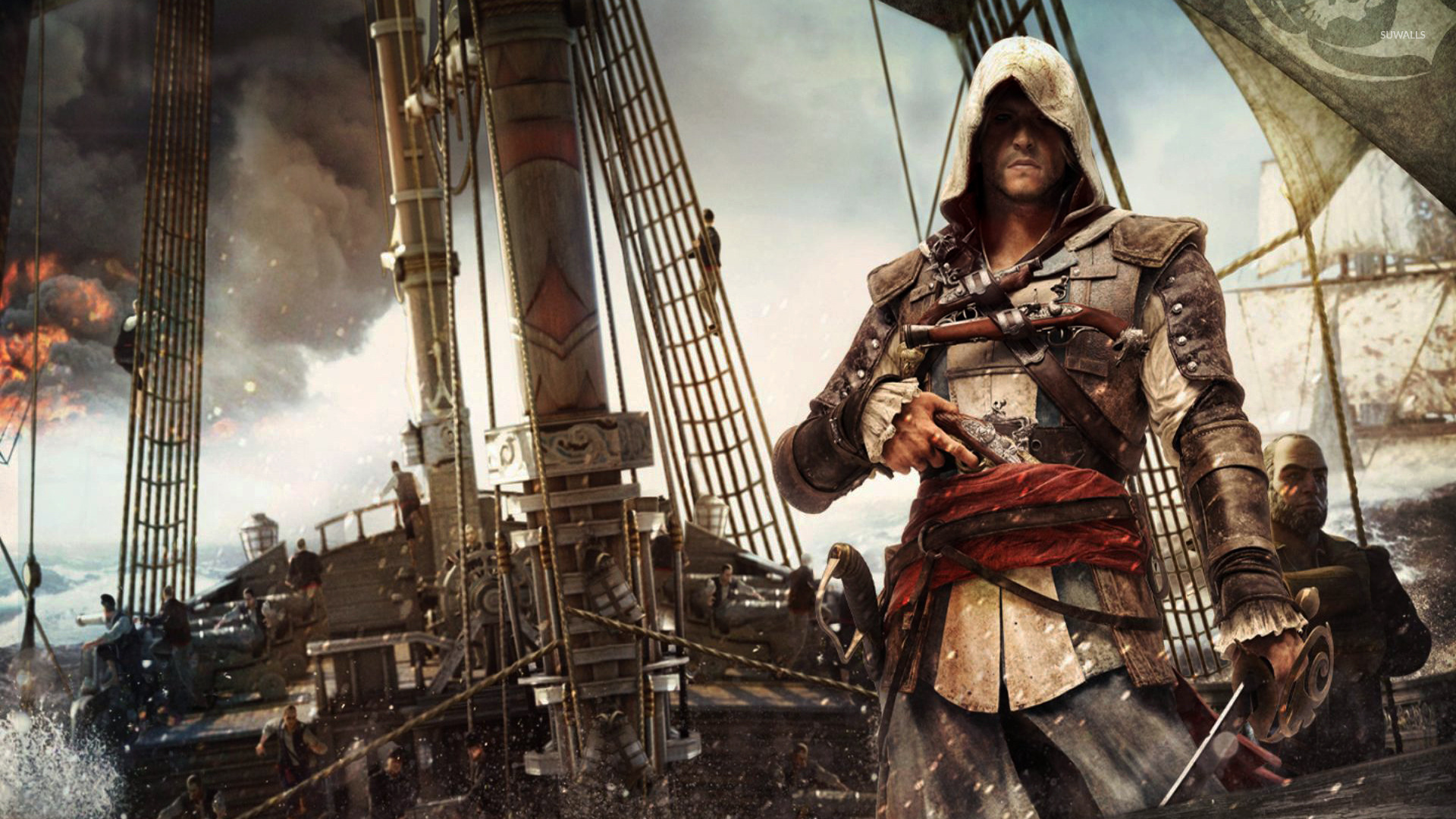Edward Kenway Assassin S Creed Iv Black Flag 3 Wallpaper