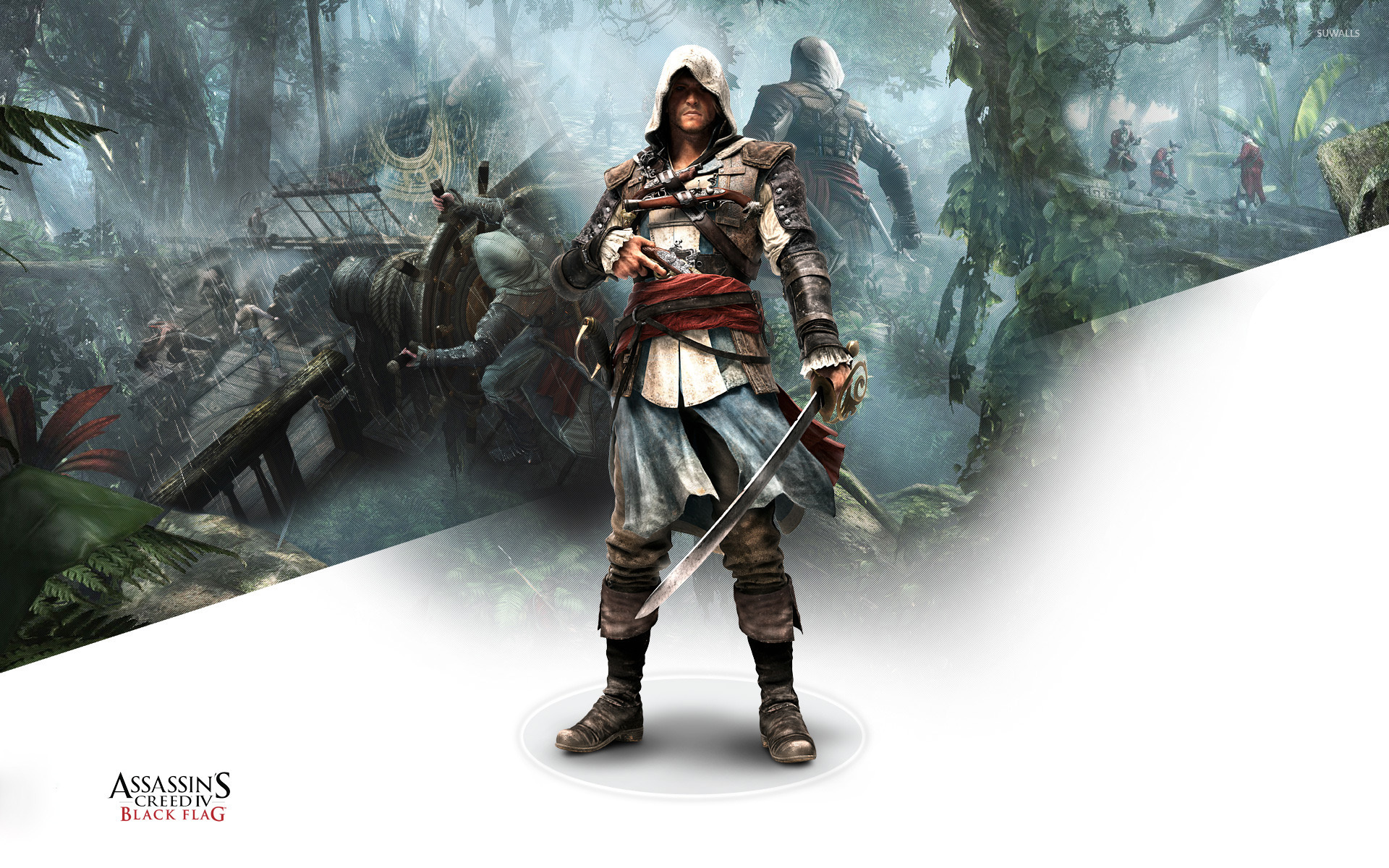 edward kenway assassins creed iv black flag 11 wallpaper 1920x1200 jpg