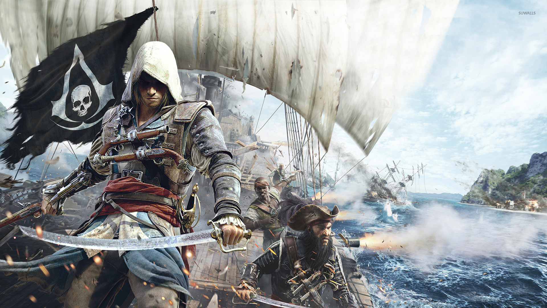 Edward Kenway Assassin S Creed Iv Black Flag 7 Wallpaper