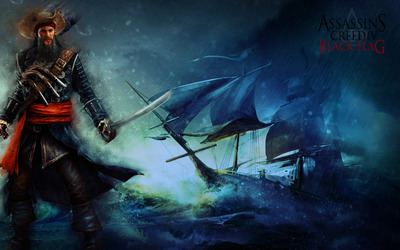 Edward Thatch - Assassin's Creed IV: Black Flag wallpaper