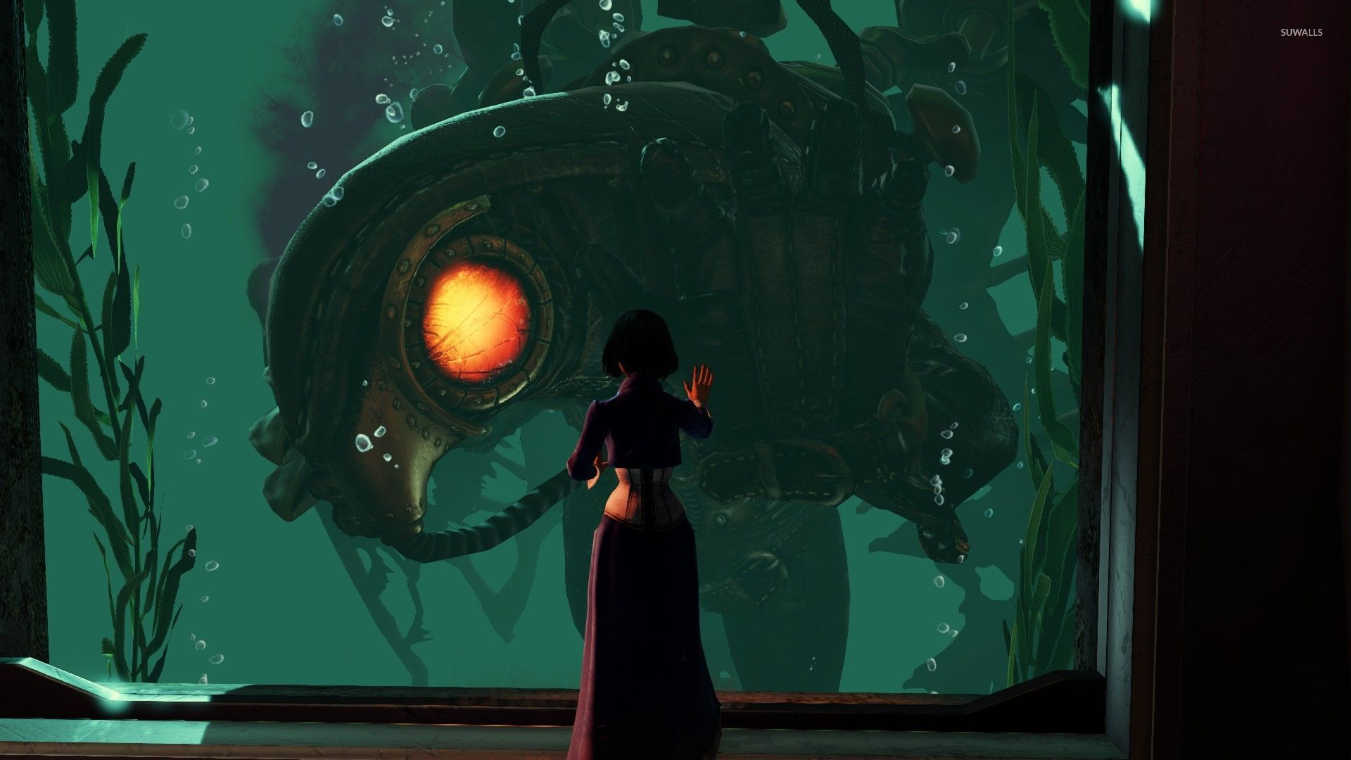 Elizabeth and Songbird - BioShock Infinite wallpaper