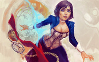 Elizabeth - BioShock Infinite wallpaper 1920x1080 jpg