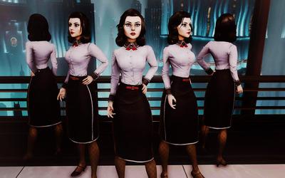 Elizabeth -BioShock Infinite: Burial at Sea [2] wallpaper