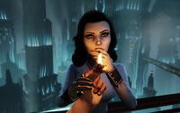 Elizabeth -BioShock Infinite: Burial at Sea wallpaper 1920x1080 jpg