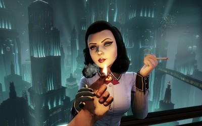 Elizabeth - BioShock Infinite: Burial at Sea [8] wallpaper