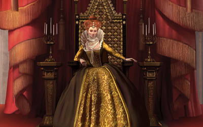 Elizabeth of England - Sid Meier's Civilization V wallpaper