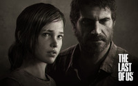 Ellie and Joel - The Last of Us wallpaper 2560x1600 jpg