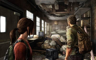 Ellie and Joel - The Last of Us [3] wallpaper