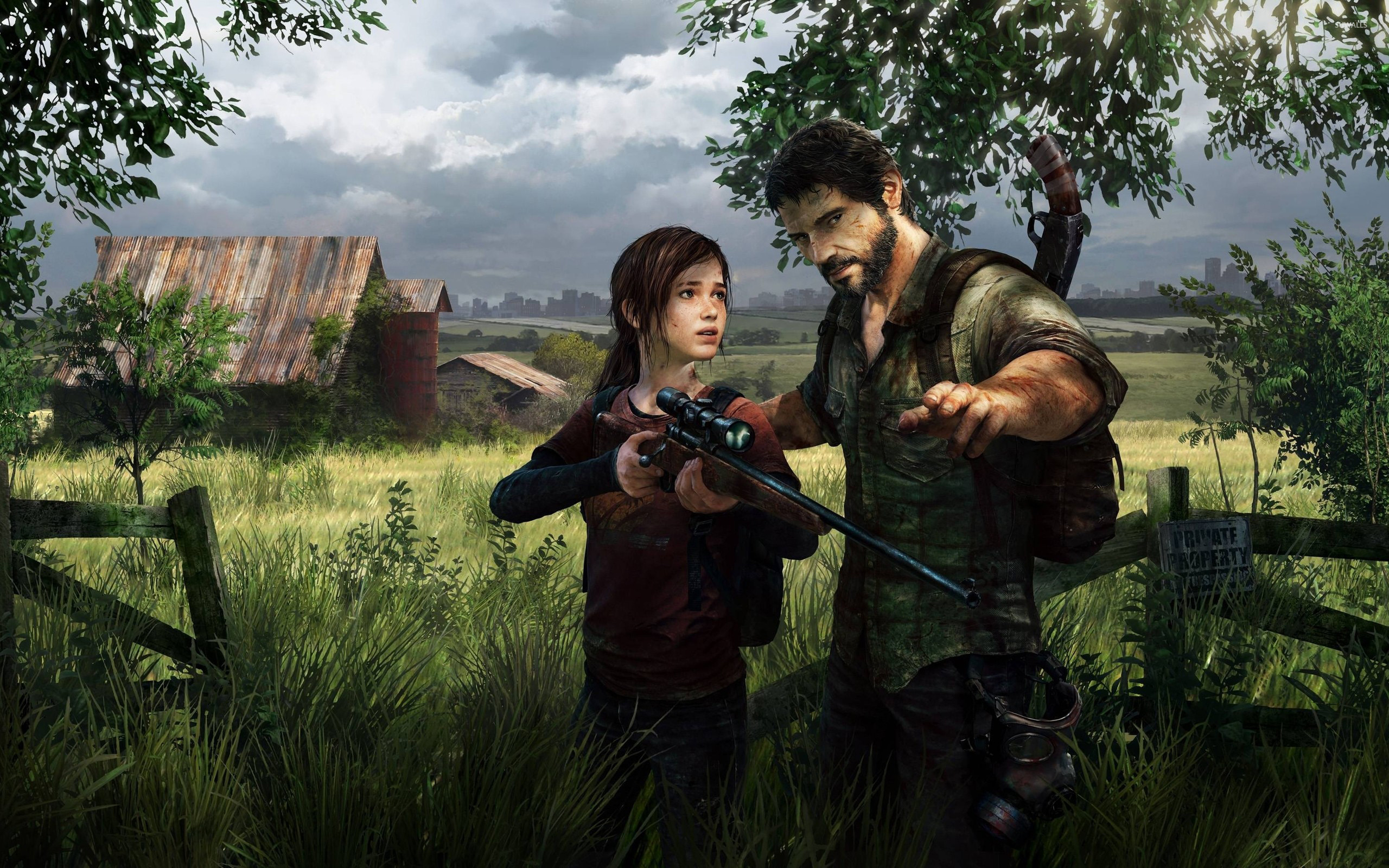 Ellie And Joel The Last Of Us 2 Wallpaper Game Wallpapers